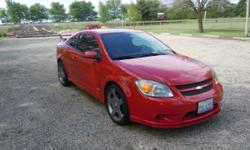2006 Chevy Cobalt SS Supercharged, 5 speed manual transmission. Excellent condition, NEVER driven in snow or salt. 112,800 miles, We have all maintenance records since new. A/C, Power windows, Power locks, Cruise control, Power steering, Tilt wheel,