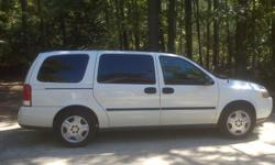 This 2006 Chevy Uplander looks great and runs well! It s an automatic with 77,000 miles. DVD player and grey interior. Please call 432-563-1880 for more details.