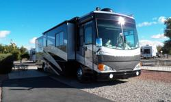 2006 fleetwood excursion.length 39,class a,three slides,engine 350 cat,diesel,back up camera,jacks hydraulic,convection oven.awning patio elec,washer dryer,2tvs.4door refrigerator,ice maker,outside entertainment sink,gril,power vents,much more,