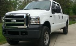 This truck runs great and shifts perfect. 4x4 works as it should. The body is very clean. - No rust! - Great shape for the year! Florida Truck!!The interior is average. There are a couple small holes in front bench. 6.0 Power Stroke Turbo Diesel. AC blows