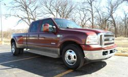 Hello, I am the second owner of this truck and it comes from Arizona (Never Been Driven in Snow). I searched for two years to find this truck and it is a rare gem at a great price. I dare you to find one better for less money. It is a 2006 Ford F-350 Crew