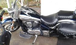 2006 Kawasaki Vulcan 900LT, only 9800 miles This is a nice bike...great cruiser...comfortable to ride for the rider & passenger. Great for trips..Very reliable bike, runs great.