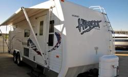 Price: $5400 -- Great condition, everything works -- 2006 Keystone Hornet Hideout 27FLS Toy Hauler -- Contact me for more photos and vehicle location.