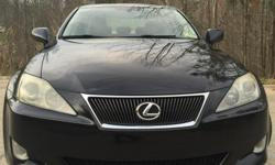 2006 Lexus IS 250,all wheel drive,2nd owner,133,000 miles. Car is driven daily,heated and cooled seats,needs nothing. Priceis firm and no trades please..