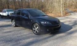 Make: Mazda Model: MAZDA3 Year: 2006 Body Style: Sedan Exterior Color: Black Interior Color: Black Doors: Four Door Vehicle Condition: Excellent  Price: $9,500 Mileage:125,000 mi Fuel: Gasoline Engine: 4 Cylinder