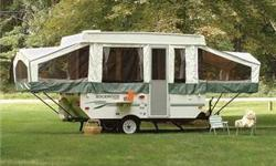 2006 Rockwood Freedom Pop UP camper for sale. Great condition. Awining in great shape. No leaks. It has: A/C Sink Stove Heater Heated bunks Water filter Awning Runs on city water or water pump Clean title $4300. Reduced