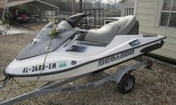 The 2006 Sea-Doo GTX 4-TEC is a 3-Passenger Style Personal Watercraft -PWC- equipped with an 1494cc, Liquid Cooled, Longitudinal In-Line, SOHC, 4-Stroke Engine. It has a 4-blade Stainless Steel impeller and puts out 155HP. The GTX 4-TEC has a Direct Drive