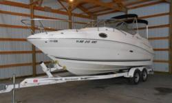 2006 Sea Ray Sundancer For Sale In Elkhorn, Nebraska 68022 This 2006 Sea Ray Sundancer 350 Mag with Bravo 3 Outdrive has everything you could want for your next water adventure. Whether you want to hangout with a few friends in the sun this boat can offer
