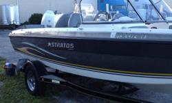 MUST SELL! Owner relocating back to Georgia......PRICED well under book value! 2006 Stratos 386ProXL and 2005 Johnson 140hp Outboard with 400 hours. Additional equiptment included. Trailer has some rust. Pictures available on request. Boat