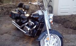 16,000 miles, Cobra Aftermarket Exhaust, driver seat backrest and also comes with the stock exhaust for the bike. Negotiable on price