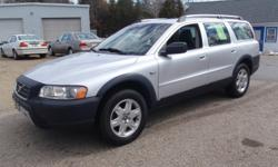 2006 Volvo XC70 Wagon, Metallic Silver with charcoal leather interior, automatic with winter mode, 2.5 liter 5 cylinder turbo, 156k miles, power windows, power locks, power heated mirrors, power heated memory seats, alloy wheels, tilt, cruise, sunroof,