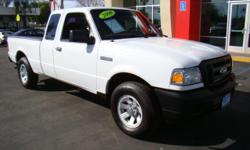 Here is a classic small yet powerful truck - the Ford Ranger! v6 3.0 engine, 6-foot bed, automatic transmission, AM/FM, CD, A/C and heat, bed liner, cruise control, custom bumper, power windows, power locks, and more! Give me a call or text at