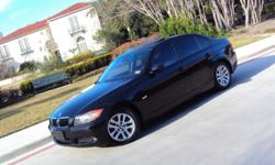 This is a 2007 BMW 328I 5 spd that runs great 100K it's all power runs great must drive it to see how great this vehicle drives if you have any questions please call this number -- thank you!!!!