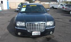 Description This is a beautiful GRAY PBM 2007 CHRYSLER 300C 4 DOOR SEDAN AUTOMATIC V8, 5.7L RWD Vehicle with 89820 miles. Please call california luxury auto sales for more information at (818) 365-1199. Features * AIR CONDITIONER * ALARM * AM/FM RADIO *