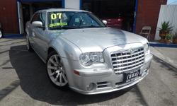 Welcome to 562 Auto Exchange at 13110 Lakewood Blvd Bellflower CA 90706. Come and take a look at this 2007 Chrysler 300C stock #630010 Silver exterior Black interior. We offer multiple loan options with finance companies and credit unions that get you