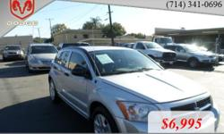 Year: 2007 Make: Dodge Model: Caliber Mileage: 85834 BodyStyle: 4 DOOR HATCHBACK Transmission: AUTOMATIC CVT Color: SILVER CARZFORYOU.COM Price excludes government fees and taxes, any finance charges, any dealer document preparation charge, vehicle