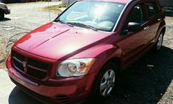 I have this great 4 door automatic Dodge Caliber in perfect condition. 4 cylinder engine and very good on gas. Also has a cooler on top of the glove box for your food or beverages. Chrome door handles & Great tires. It has been very well maintained except