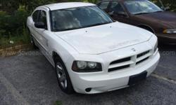 2007 Dodge Charger SXT SEDAN 4-DR, 5.7L V8 OHV 16V. Mileage is 137,518. Starts with a boost and runs. Emergency Equipment and Decals have been removed, some holes and residue may remain. Equipped with Power Steering, Tilt Steering, Cruise Control, A/C,