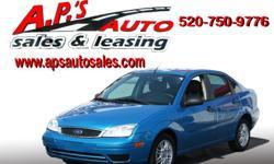 CLICK HERE FOR MORE IMAGES AND INFO: http://clients.automanager.com/007066/vehicle-details/ef28e2d146144160b3953db31a13d30e (520) 750-9776 A.P'S Auto Sales 3747 E. Speedway Blvd. Tucson, AZ 85716 2007 Ford Focus 4-Door Sedan Mileage: 71,569 VIN: