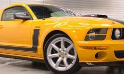 apply for credit here : https://vpix.us/credit/dealer/jordanmotors10west/ A very, very special Pony indeed! In the six years we have been open, this only the second one of these to come around! A 2007 Saleen Parnelli Jones Limited Edition Ford