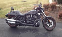 2007 Harley-Davidson VRSC Condition: Great shape. Runs perfect. Features: Includes the following extras: -OEM battery maintainer/charger. -OEM cover. -OEM tank protector. -OEM temperature gauge dip stick. -OEM side-mounted frame bag. -OEM mini back rest