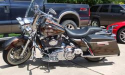 2007 HARLEY DAVIDSON ROAD KING CLASSIC...ANNIVERSARY EDITION...THIS ONE IS 54 OUT OF ONLY 100 MADE..RINEHART EXHAUST...IMMACULATE CONDITION...MUST SEE BIKE..RUNS LIKE NEW...CALL OR TEXT ME AT -- Price:13700.00  Price:13700.00