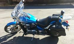 Plasma Blue color Excellent Condition 17,000 miles 50 mpg Performance Package (intake, air cleaner, exhaust and electronic fuel injection tuner) New Tires Passenger Back Rest and Luggage Tray Passenger feet floor boards Additional Items: original exhaust,