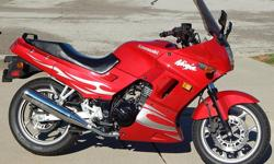 I am selling my 2007 Kawasaki Ninja 250R which only has about 6,500 miles. It is in excellent condition,new battery, custom tinted windshield and a clean title in my name. The bike starts, runs, drives and brakes like new and has always been