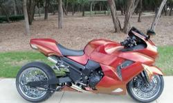 I am selling my 07 zx 14. The bike is very clean.I don`t stunts ( not my style of riding ...and i don`t know how ). The bike runs great and is in excellent condition .I have not had any problems with the bike.Sleeps in garage .