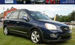 FOR UP-TO-DATE PRICING AND MOR PHOTOS, CLICK THIS LINK: http://www.carwashcarsinc.com/2007_Kia_Rondo_Glenmont_NY_264394499.veh 2007 Kia Rondo 'EX' V6 Wagon!! Sunroof; Power Windows, Locks, and Mirrors; AM/FM/CD; Air Conditioning; Center Console; Cruise