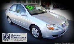 2007 Kia Spectra EX Sedan   automatic FWD air conditioning am/fm stereo w CD power door locks power windows steel wheels cruise control dual air bags power steering side air bags 147k miles   $5995.00   #443272 stk 2632 Visit our website: