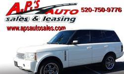 CLICK HERE FOR MORE IMAGES AND INFO: http://clients.automanager.com/007066/vehicle-details/64b9b6f5a7b547ec90692ee8ca3eaa81 (520) 750-9776 A.P'S Auto Sales 3747 E. Speedway Blvd. Tucson, AZ 85716 2007 Land Rover Range Rover HSE 4-Door SUV Interior Color: