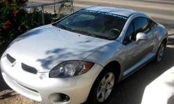 2007 Mitsubishi Eclipse Mileage - 16600 Body Style - Coupe Exterior Color - Silver- Interior Color - Black Engine - 4 Cylinder - fuel economy - Transmission - Automatic - 2 wheel drive Fuel Type - Gasoline Doors - Two Door Low mileage, No accidents,
