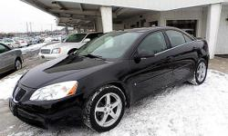 Our 38th Year!..............Very sharp Pontiac G6 with 82,000 miles???.3.5 liter V-6??..black leather??..alloy wheels??.power moonroof??..front-wheel drive???nice!?.......visit our website for more pictures at http://binghamtonauto.com