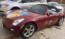 Pontiac solstice 2007, custom rims, paint job, custom stereo, 100k miles great condition! A must see!