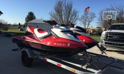 2007's SEA DOO RXP-215 AND RXT 215. There are 193 hours on the RXP 215 and 186 on the RXT 215. Only selling them them together i will not sell them individually.Comes with a 2008 Karavan Double Trailer As Shown in the Pictures (587) 600-5438