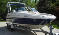 We are selling our like new 2007 Sea Ray Sundeck 200. Our family has had a blast with this boat and we hate to see her go. The boat has only 75 hours of freshwater use TOTAL TIME. We are the original owners & we purchased from the local Sea Ray dealer