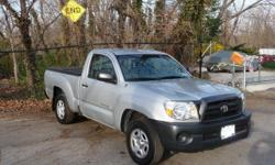 THIS 07 TOYOTA TACOMA COMES WITH 7 YEARS AUTOMOTIVE THEFT PROTECTION (UP TO $25,000) & 7 YEARS EXTENDED WARRANTY. IT HAS ONLY 27K MILES. A LITE HITS IN THE SIDES. CALL OR TEXT 646-464-0827