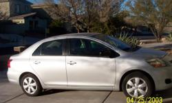 46,200 miles on this 4-dr one owner Toyota Yaris. Has power door locks, windows, and mirrors. A/C, CD player, MP3 Player. Interior in great shape with cloth seats. Excellent gas mileage 35-40 mpg hwy, 30 in town.