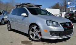 Stock #A9955. 2007 Volkswagen GTI 2-DR Hatchback!! 2.0L 4 Cyl TURBO; 6-Sp Manual Transmission!! Power Moonroof; 'GTI' Heated/Leather Sport Seats; Power Windows; Locks; and Mirrors; Hands-Free Communication; Heated/Signal Side Mirrors; AM/FM/CD/MP3; Dual