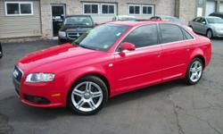 Master Motors of Buffalo 6575 S. Transit Rd. Lockport, NY 14094 (716) 204-0111 2008 Audi A4 is a LOADED sedan that you will not only enjoy driving but will love showing off with its very sleek red exterior and black interior. Loaded with options,