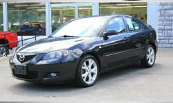 FOR UP-TO-DATE PRICING AND MORE PHOTOS, CLICK THIS LINK: http://www.crossroadsny.com/used/Mazda/2008-Mazda-Mazda3-Ravena-NY-bfcd08b30a0e0a174ce2c9b7871b7fbe.htm?searchDepth=1:1 2008 MAZDA 3 SEDAN! Sporty Car! 5 Speed Manual Shift! Ice Cold A/C! Power