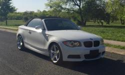 Mileage:126,398 Miles Exterior:White Interior:Black Engine:3.0L I6 Turbocharger Fuel Type:Gasoline Trim/Package:135i 2dr Convertible Alloy wheels, Leather, Automatic, Soft top convertible, Sport package, Paddle shifters, Premium package, Cold weather