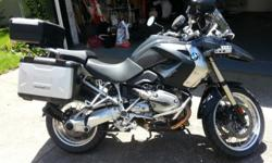 2008 R1200GS PERFECT condition and every upgrade you can think of, keep reading... Black/Grey 22K highway miles ABS Heated Grips Comes with BOTH regular and low height seats BRAND NEW metzeler tourance EXP's BRAND NEW battery BMW expandable side cases and