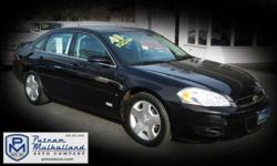 2008 Chevrolet Impala SS | Chico, CA | Putnam Mulholland Auto Company, Inc. 530-343-5565 | 800-600-5564   2008 Chevrolet Impala SS   Our Price $11,995 Mileage: 83,549 miles Exterior: Black Interior: Black Leather