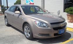 2008 CHEVY MALIBU LT1 SEDAN 92,528 MILES, 2.4L V6 ENGING,GOLD WITH TAN TWO TONE COLTH INTERIOR, FINANCING AVILABLE! PLEASE CALL FOR APPOINTMENT!