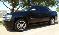 This 2008 Chevy Avalanche looks like it just rolled off the showroom floor. The exterior is in perfect condition. The paint is flawless and it has a beautiful shine. This truck doesn't have a ding or scratch on it. The interior of this vehicle looks