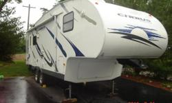 this is in excellent shape ready to take camping, just need clothes and food everything else already there. includes 5th wheel hitch, ice maker, 10 x 10 canopy, and much more. just asking what payoff is. moving out of state. also includes winter cover