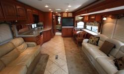 2008 Damon Tuscany 4072 Class-A Motorhome, Excellent Condition Get ready to meet a motorhome you will simply love, your home away from home, made just for the traveler and adventurer in you. Approximately 40' in length with 3 Slides provides an incredible