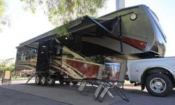 2008 Gulf Stream Prairie Schooner 36Fte Quad Slide-Luxury Level 5Th Wheel, 4 Season use Plasma TV C/VAC. 4 sleeping capacity, 2 air conditioners, 4 awnings, and many options. Any information, e-mail:thom66mls@gmail.com or text me ** (480) 378 1446.